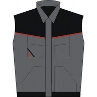 Arbeitsweste - Berufsbekleidung / Arbeitskleidung, strapazierfähig