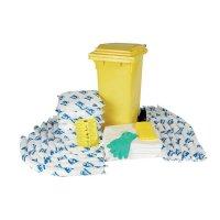 Sorbent-Bindemittel-Soforthilfesets, Öl-bindend, mobil