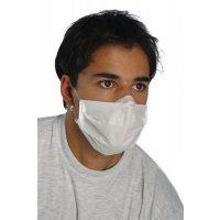 Mundschutz aus Papier, mit Gummibändern