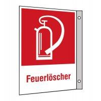 """Brandschutzzeichen-Kombi-Schilder """"Feuerlöscher"""""""