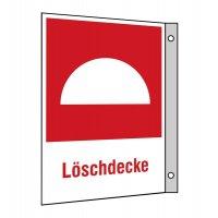 """Brandschutzzeichen-Kombi-Schilder """"Löschdecke"""""""