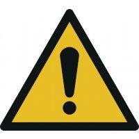 Allgemeines Warnzeichen - Warnzeichen zur Bodenmarkierung