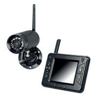 Überwachungskameras mit tragbarem Monitor