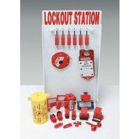 Lockout-Stationen, verstellbar