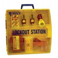 Lockout-Stationen, tragbar
