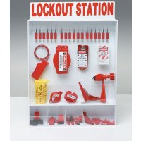 Lockout-Stationen, verstellbar