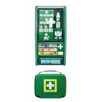 Cederroth Erste-Hilfe-Brandwundenstation mit Erste-Hilfe-Koffer