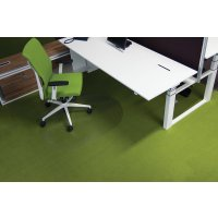 Bodenschutzmatten, robust, recyclebar, Schildform