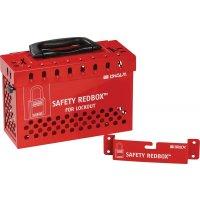 Safety Redbox™ Gruppenverschlusskasten, zur Wandbefestigung