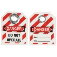 Mini-Lockout-Sicherheitsanhänger, Kunststoff