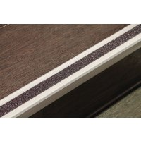 Antirutsch-Treppenkantenprofile, farbig, R13