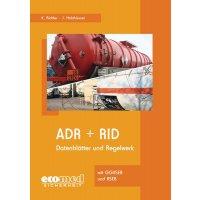 """CD-ROM """"ADR + RID"""" für Arbeitssicherheit und Gesundheitsschutz"""
