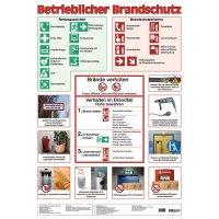 """Betriebsaushang """"Betrieblicher Brandschutz"""" zur Arbeitssicherheit"""