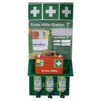 Erste-Hilfe- und Augen-Notfall-Station