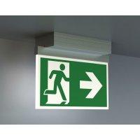 LED Metall-Scheiben-Notleuchten