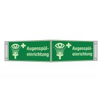 """Erste-Hilfe-Schilder """"Augenspüleinrichtung"""", praxiserprobt"""