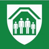 Schutzraum - RE-Move Rettungszeichen, klebend und wiederablösbar, EN ISO 7010