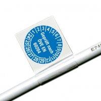 Geprüft nach ÖVE EN 60204 - ÖNORM Kabelprüfplaketten aus Vinylfolie