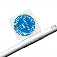 Geprüft nach AStV § 13 - ÖNORM Kabelprüfplaketten aus Vinylfolie