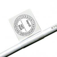 Geprüft nach BGVR - Kabelprüfplaketten
