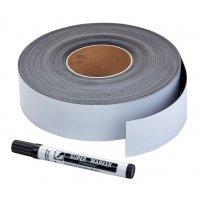 Lager-Magnetetiketten auf Rolle, farbig, mit oder ohne Stanzung