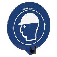 Kopfschutz benutzen - PSA-Wandhaken