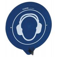 Gehörschutz benutzen - PSA-Wandhaken