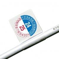 2-Jahres Kennzeichnung - Kabelprüfplaketten