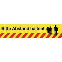 Bitte Abstand halten!, Streifen - SetonWalk Bodenmarkierung, R10 nach DIN 51130/ASR A1.5/1,2