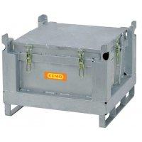 Akku-Stahlsammelbehälter
