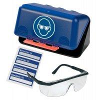 Aufbewahrungsbox mit Schutzbrille