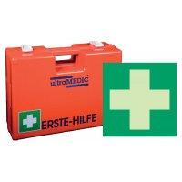 Erste-Hilfe-Koffer Basic Set mit Schild, ÖNORM Z1020 Typ 2