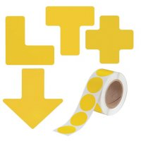 BRADY TOUGHSTRIPE Bodenkennzeichnung-Set für Palettenstellplätze, erweitert