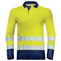 uvex Warnschutz-Poloshirt suXXeed construction langarm, Herren