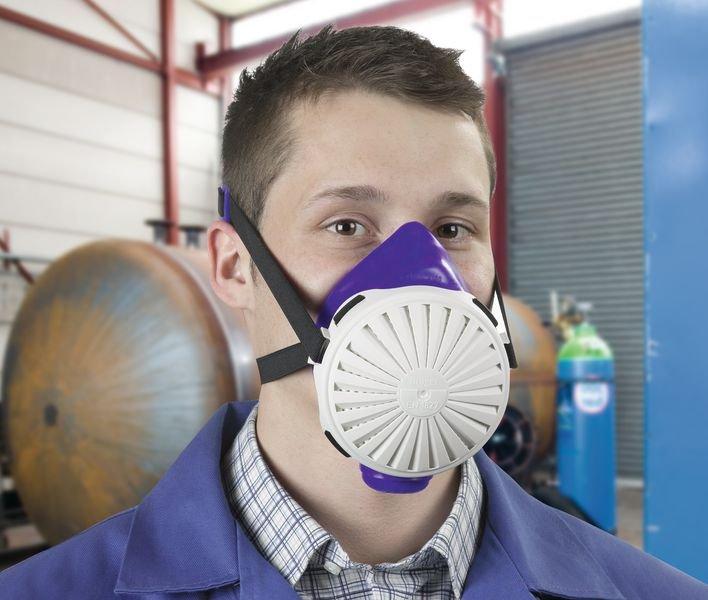 Partikelfilter-Halbmasken, wiederverwendbar, EN 1827, EN 143