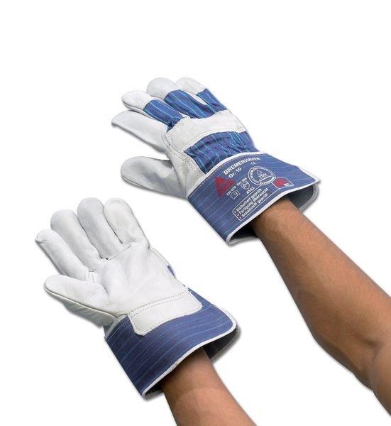 Rindnarbenleder-Handschuhe, wasserabweisend
