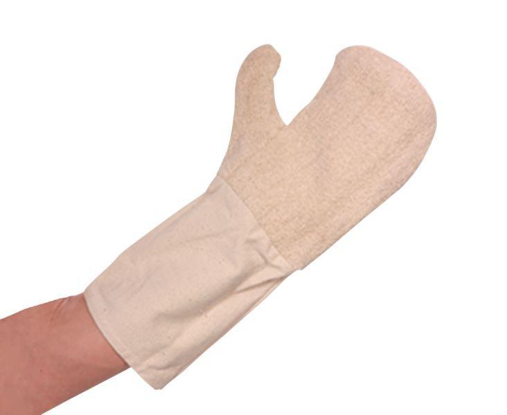 Baumwoll-Hitzeschutzhandschuhe, mit Stulpe