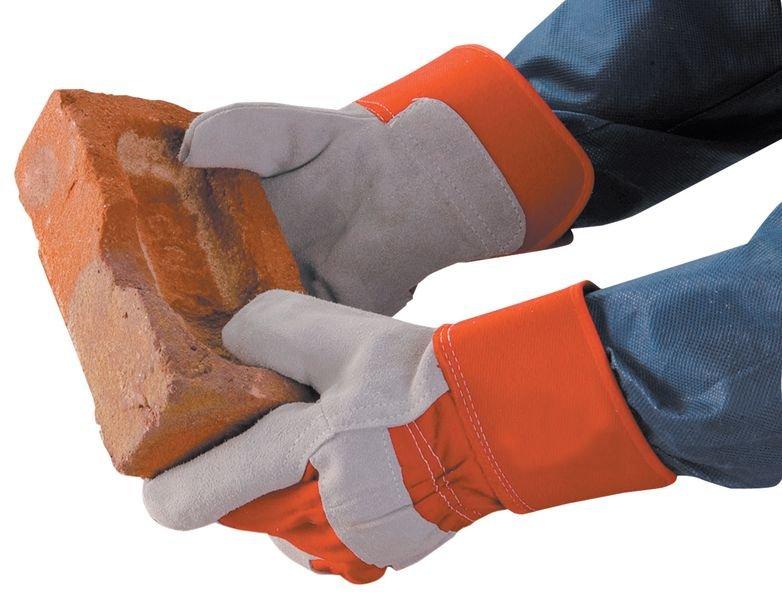 Leder-Arbeitshandschuhe, komfort