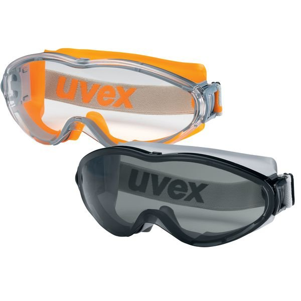 uvex Vollsichtbrillen mit Kopfband, Klasse FSB, EN 170 - Persönliche Schutzausrüstung
