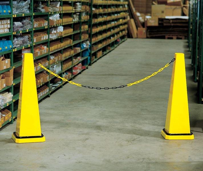 Schilderhalter für SETON Absperrkegel-Systeme - Absperrpfosten und Absperrketten