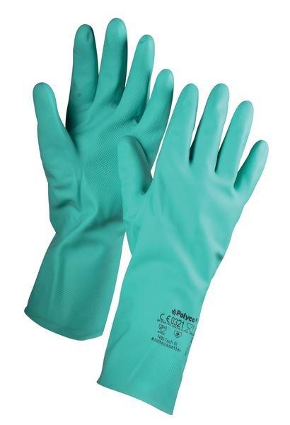 STANDARD Nitril-Chemie-Schutzhandschuhe