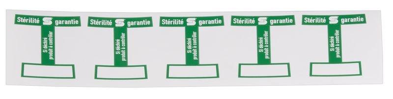 Steril-Siegel, französische Variante