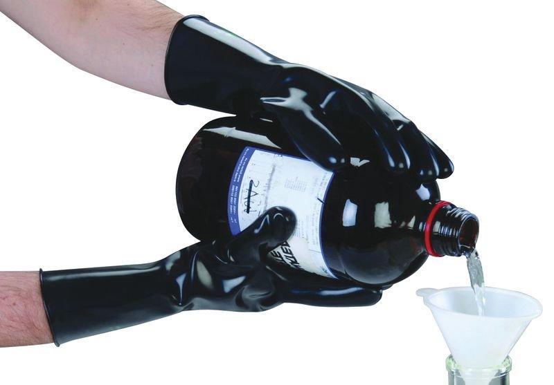 PREMIUM Butylkautschuk-Chemie-Schutzhandschuhe