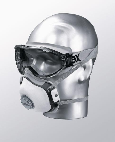 uvex Vollsichtbrillen mit Kopfband, Klasse FSB, EN 170 - Schutzbrillen und Gesichtsschutz