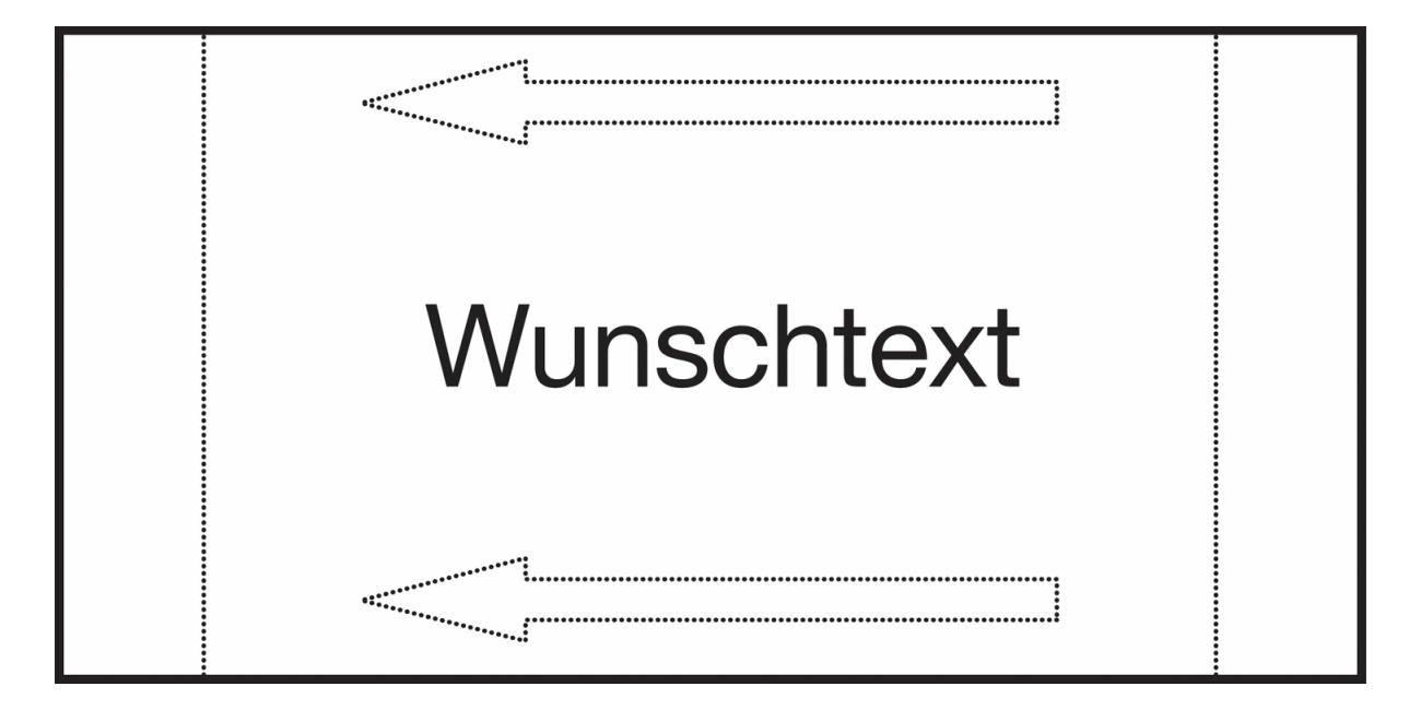 Kennzeichnungsetiketten, individuell - Schilderhalter-Systeme für Rohr-, Ventil- und Armaturenkennzeichnung