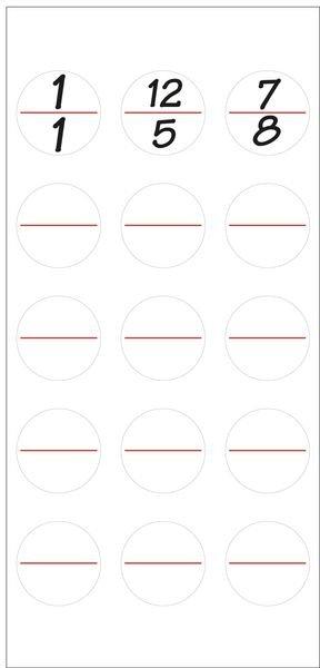 Stromkreiskennzeichnungen, blanko - Elektrokennzeichnung