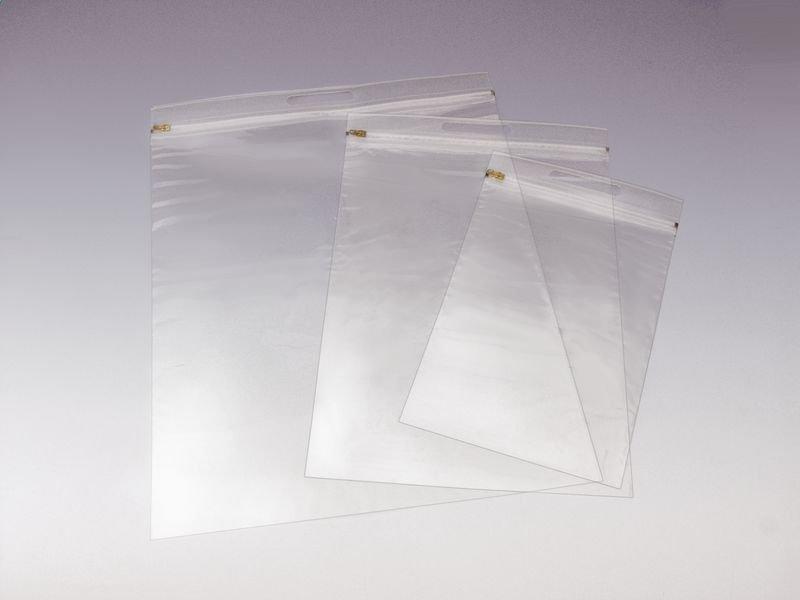 Gleitverschlusstaschen mit Griffleiste, transparent - Versandmaterialien