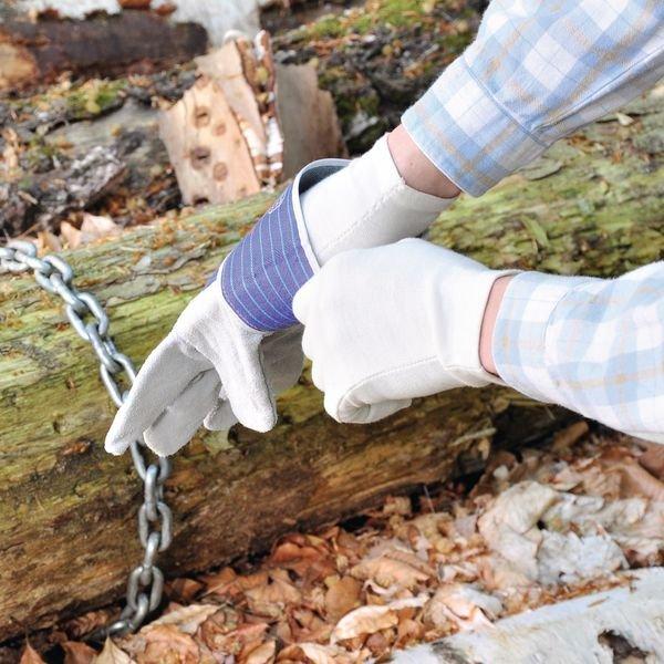 Baumwoll-Handschuhe, Feinstruktur