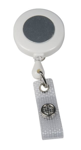 Jojo-Ausweishalter mit Clip, farbig
