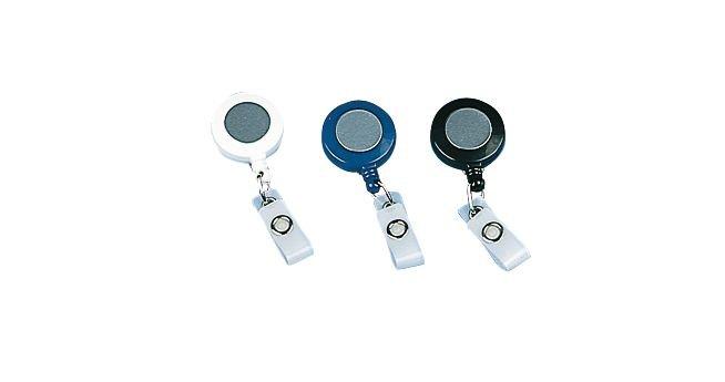 Jojo-Ausweishalter mit Clip, farbig - Ausweishüllen und Zubehör